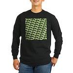 Largemouth Bass Pattern Long Sleeve T-Shirt