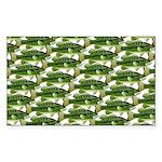 Largemouth Bass Pattern Sticker
