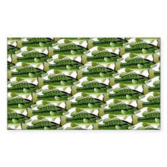 Largemouth Bass Pattern Decal