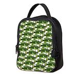 Largemouth Bass Pattern Neoprene Lunch Bag