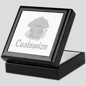 Baby Elephant Keepsake Box