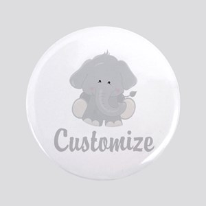 Baby Elephant Button