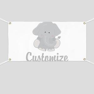 Baby Elephant Banner