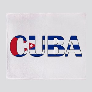Cuba Throw Blanket