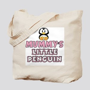 Mummy's Little Penguin Tote Bag