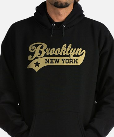 Brooklyn New York Hoodie (dark)
