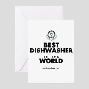 Best Dishwasher Greeting Cards