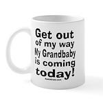 Grandbaby coming today! Mug