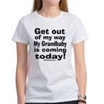 Grandbaby coming today! Women's T-Shirt