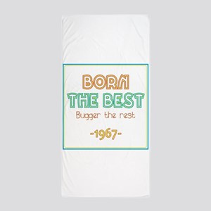 Born the Best 1967 Beach Towel