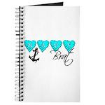 Navy Brat hearts ver2 Journal