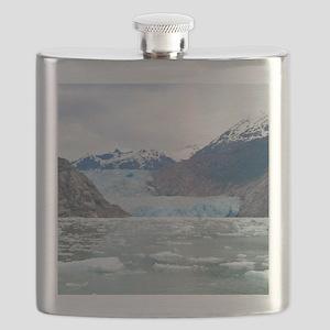 Sawyer Glacier Alaska Flask