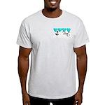 Navy Brat hearts ver2 Light T-Shirt