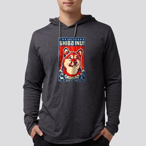 Obey the SHIBA INU! Long Sleeve T-Shirt