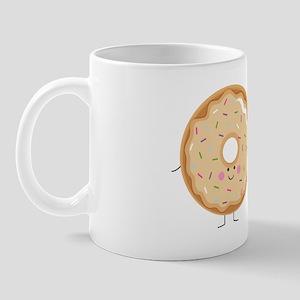 Coffee and Donut BFF Mug