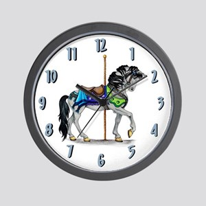 The Carousel Clock Wall Clock