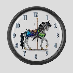 The Carousel Clock Large Wall Clock