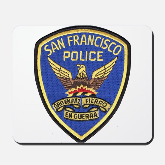 San Francisco PD Mousepad