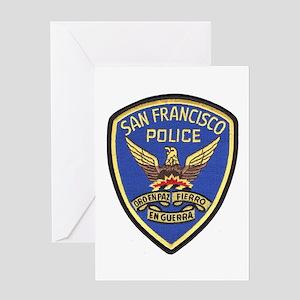 San Francisco PD Greeting Card