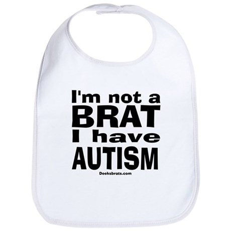 I have Autism Bib