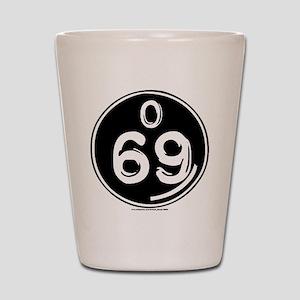 O 69 Shot Glass