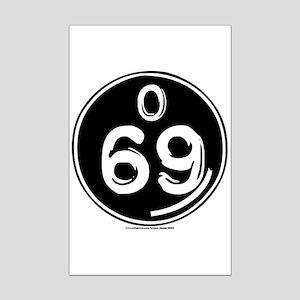 O 69 Mini Poster Print