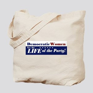 Democratic Women Tote Bag