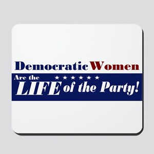 Democratic Women Mousepad
