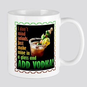 BLOODY MARY? ADD VODKA! Mugs
