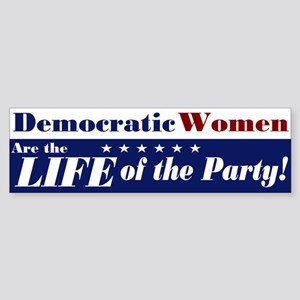Democratic Women Bumper Sticker