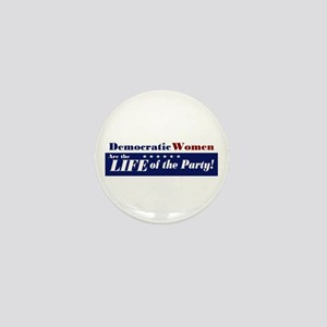 Democratic Women Mini Button