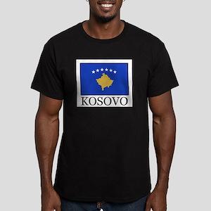 Kosovo Men's Fitted T-Shirt (dark)