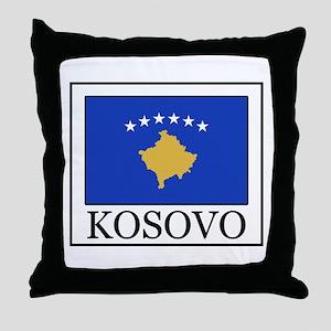 Kosovo Throw Pillow