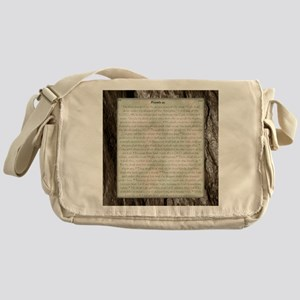 Psalms 91el Messenger Bag