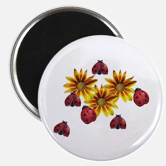 Ladybug Party Magnet