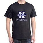 Proud Navy Mom Dark T-Shirt