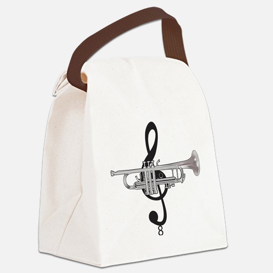Cool Trumpeter Canvas Lunch Bag