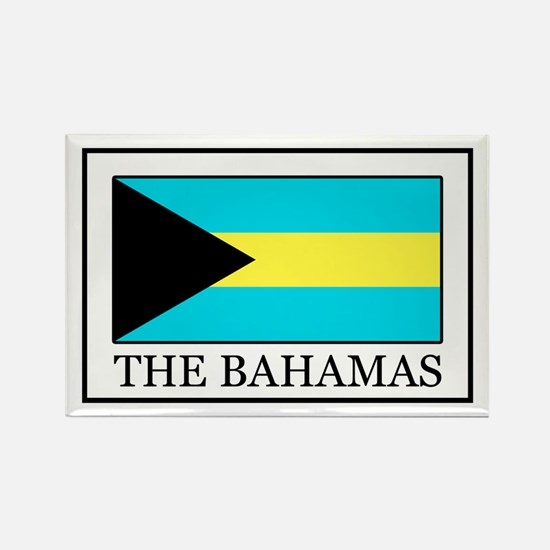 The Bahamas Rectangle Magnet