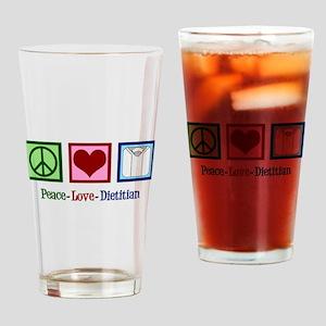 Cute Dietitian Drinking Glass