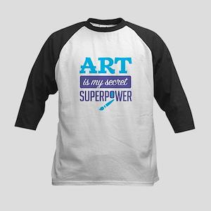 Art is My Secret Superpower Baseball Jersey