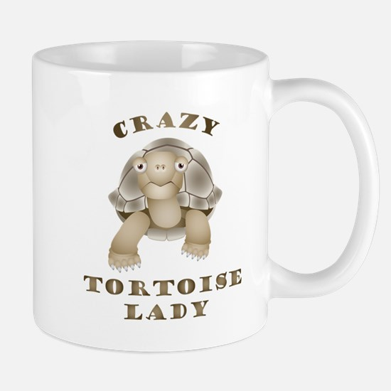 Crazy Tortoise Lady Travel Mugs