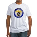 USS BRONSTEIN Fitted T-Shirt