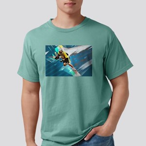 Super Crayon Colored Lacrosse in a Tornado T-Shirt