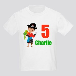 Pirate Birthday Kids Light T-Shirt