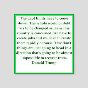 donald trump quote Sticker