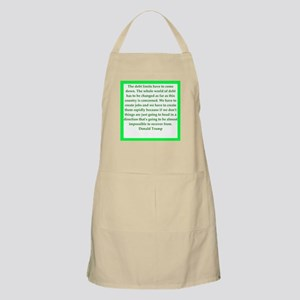 donald trump quote Apron