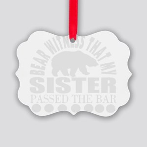 Lawyer sister Picture Ornament