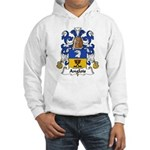 Anglois Family Crest Hooded Sweatshirt