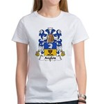 Anglois Family Crest Women's T-Shirt