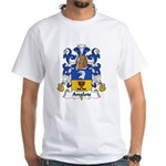 Anglois Family Crest White T-Shirt